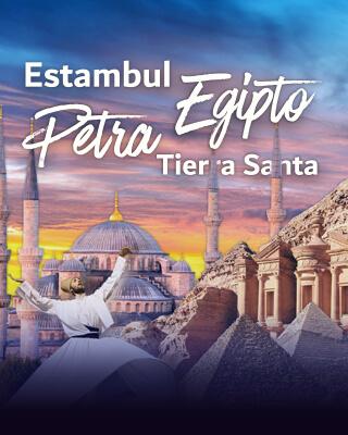 Estambul – Egipto – Petra Y Tierra Santa